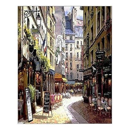 Well-liked Amazon.com: Beautiful Modern Art Watercolor Painting Rich Retro  AP39