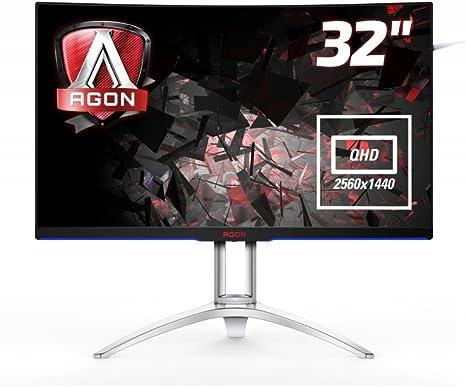 AOC Monitores AG322QCX - Monitor de 31.5