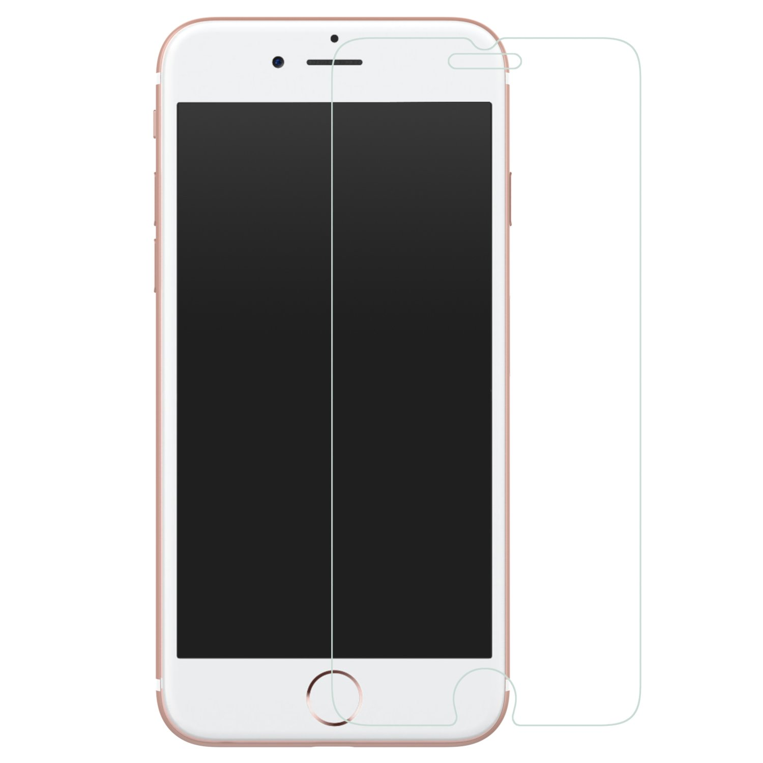 Iphone 7 Plus Screen Protector Moko [Tempered Glass] Hd Clear 9H Hardness Bal.. 16