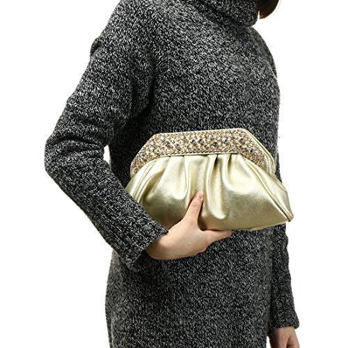 Noir Bag pour femme Evening Pochette YYW Wwfpvq4gxn