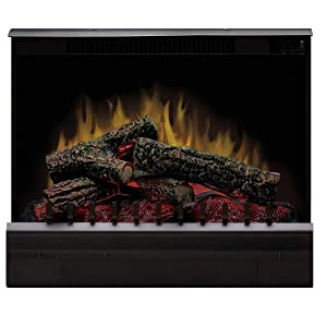 Dimplex DFI2310 Electric Fireplace Deluxe 23-Inch Insert