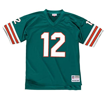 buy online f96d8 c2e6c Amazon.com : Mitchell & Ness Bob Griese 1972 Miami Dolphins ...