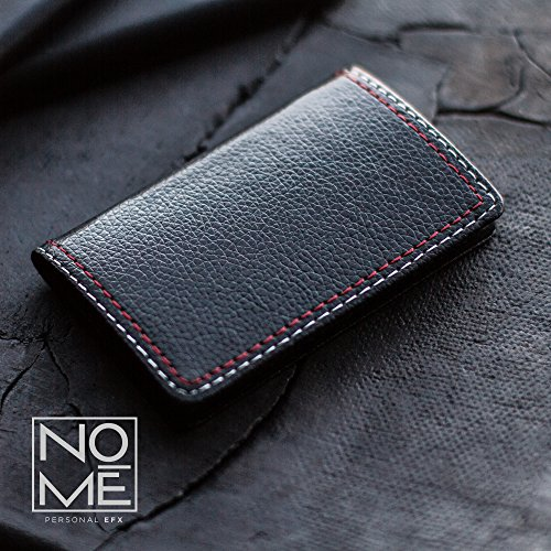 Professional basics ultra slim leather business card holder with professional basics ultra slim leather business card holder with gift box colourmoves