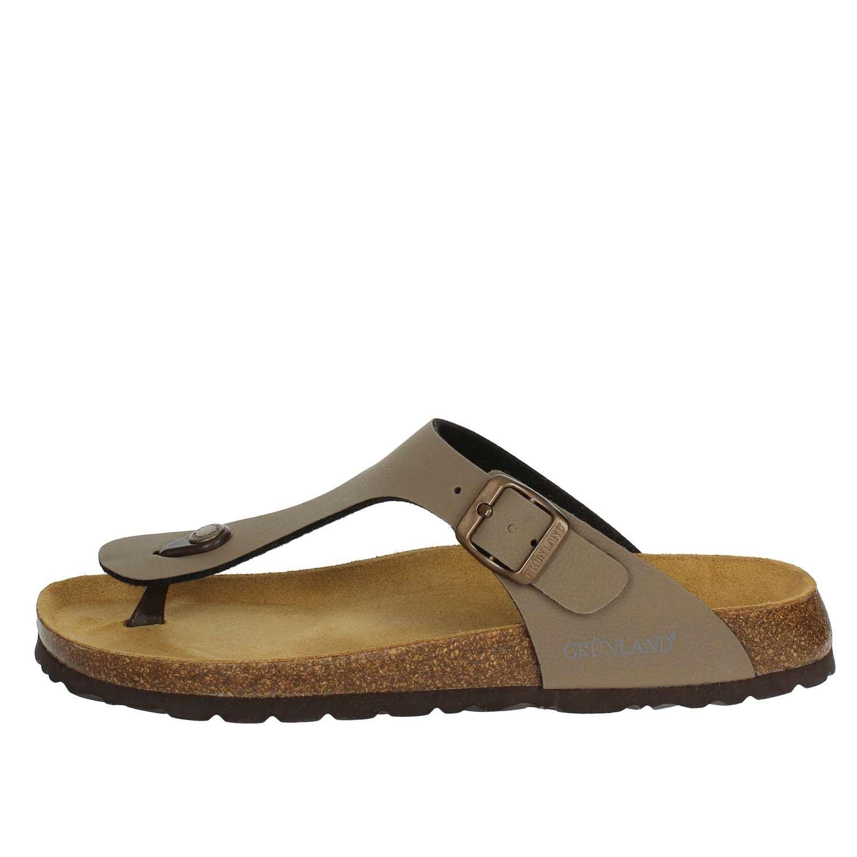 GRUNLAND CB3011 Chanclas Hombre 44 EU|Tortora Zapatos de moda en línea Obtenga el mejor descuento de venta caliente-Descuento más grande