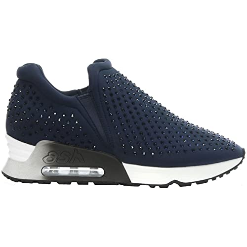 Ash Zapatos Lifting Zapatillas Mujer 40 Azul Marino