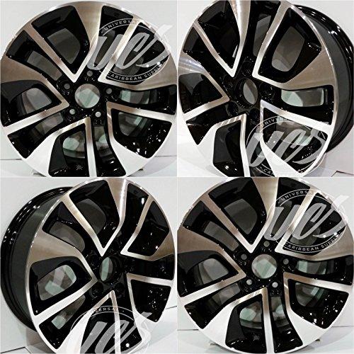 "Brand New 16"" Alloy Wheels Rims for 2013-2015 Honda Civic (16""x6.5"" / Hub Bore: 64.1 / Bolt Pattern: 5x114.3 /Offset of 45 mm) - Set of 4 PCS"