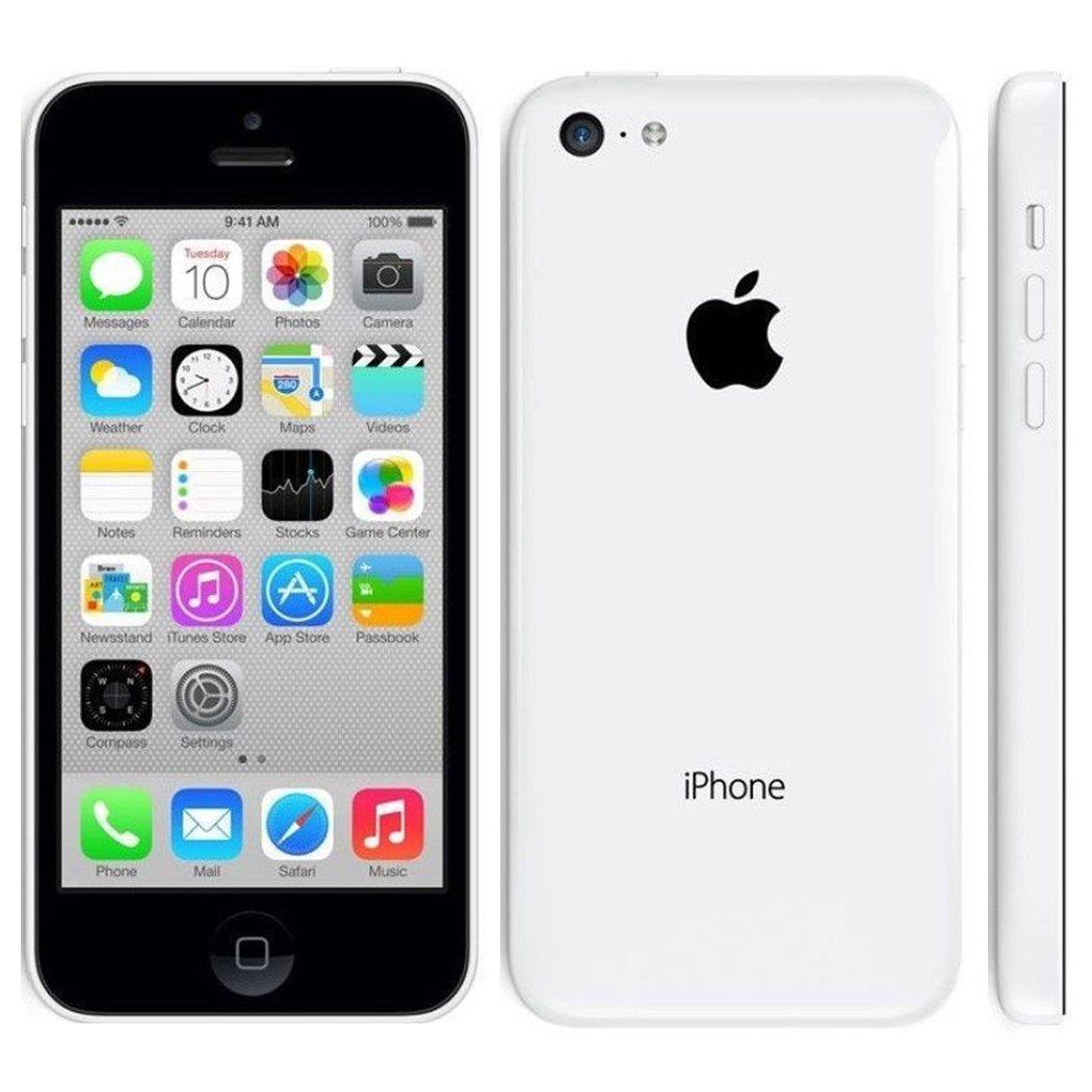 Apple iPhone 5C 8 GB Unlocked, White (Certified Refurbished) by Apple (Image #1)