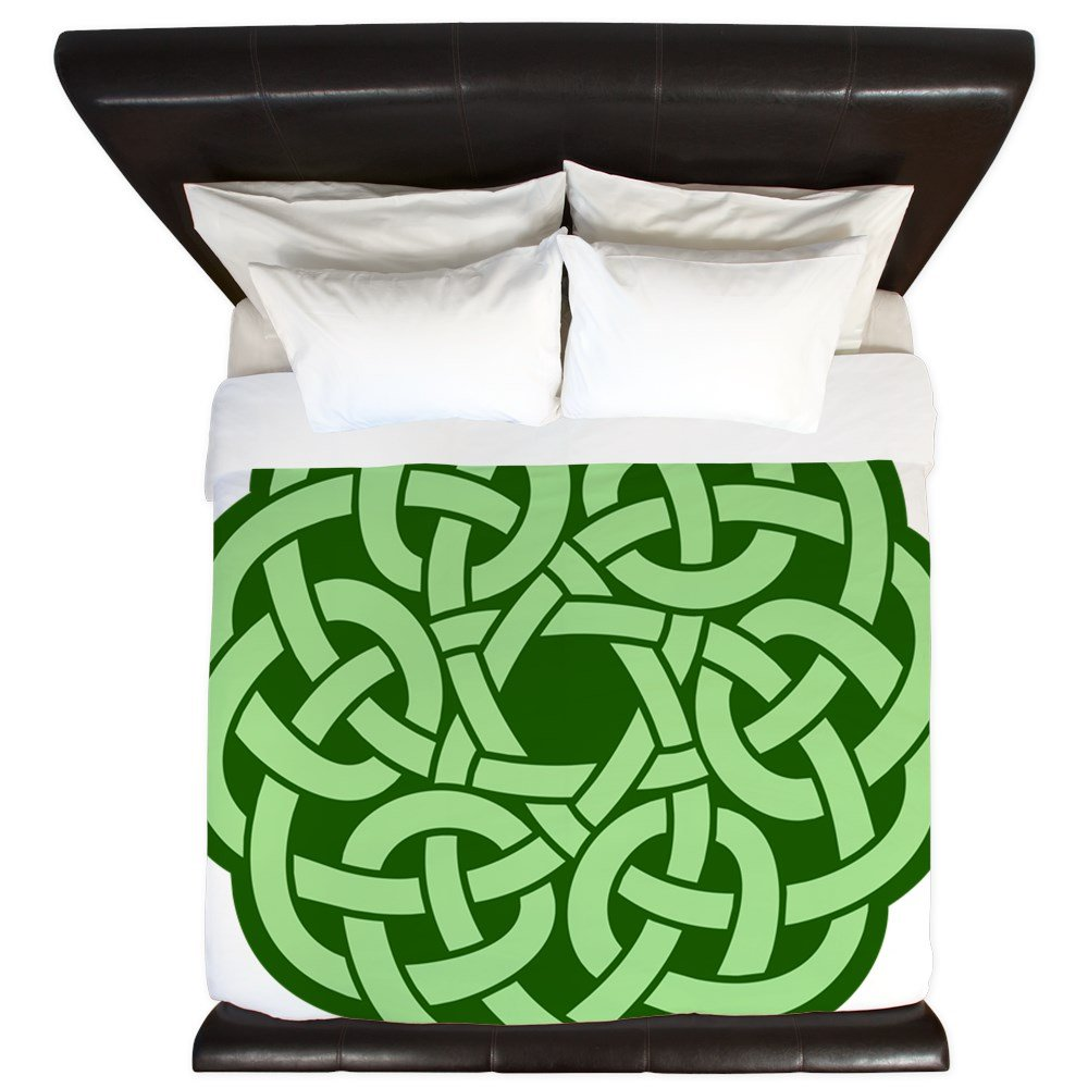 King Duvet Cover Celtic Knot Wreath by Royal Lion