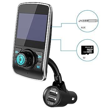 GH Coche Bluetooth Dual USB Cargador Transmisor De FM ...