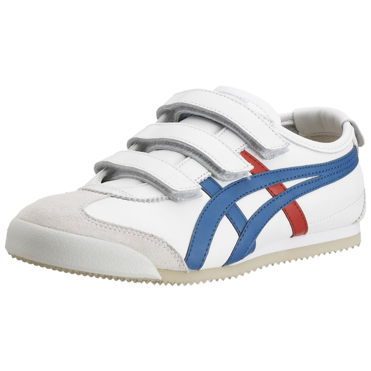 low priced a45d7 de1f0 ASICS Onitsuka Tiger Mexico 66 Baja Trainer White/Blue White ...