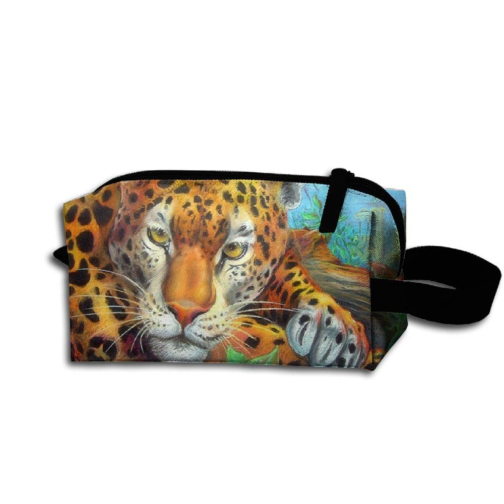 Makeup Cosmetic Bag Beautiful Animals In Love Medicine Bag Zip Travel Portable Storage Pouch For Mens Womens by Homlife