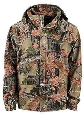Trail Crest's Evolton Men's Camouflage Hunting Waterproof Tanker Jacket