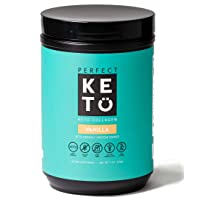 Perfect Keto Collagen Powder with MCT Oil - Grassfed, GF, Multi Supplement, Best...