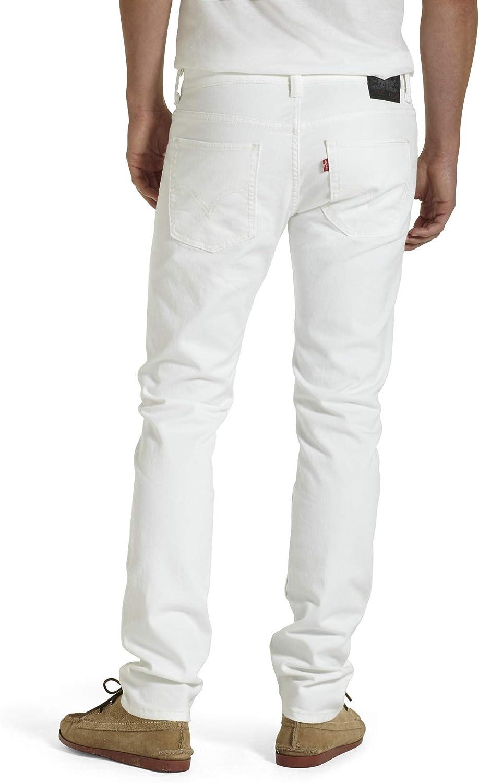 Levi's Men's 511 Slim Fit Jeans White - Stretch