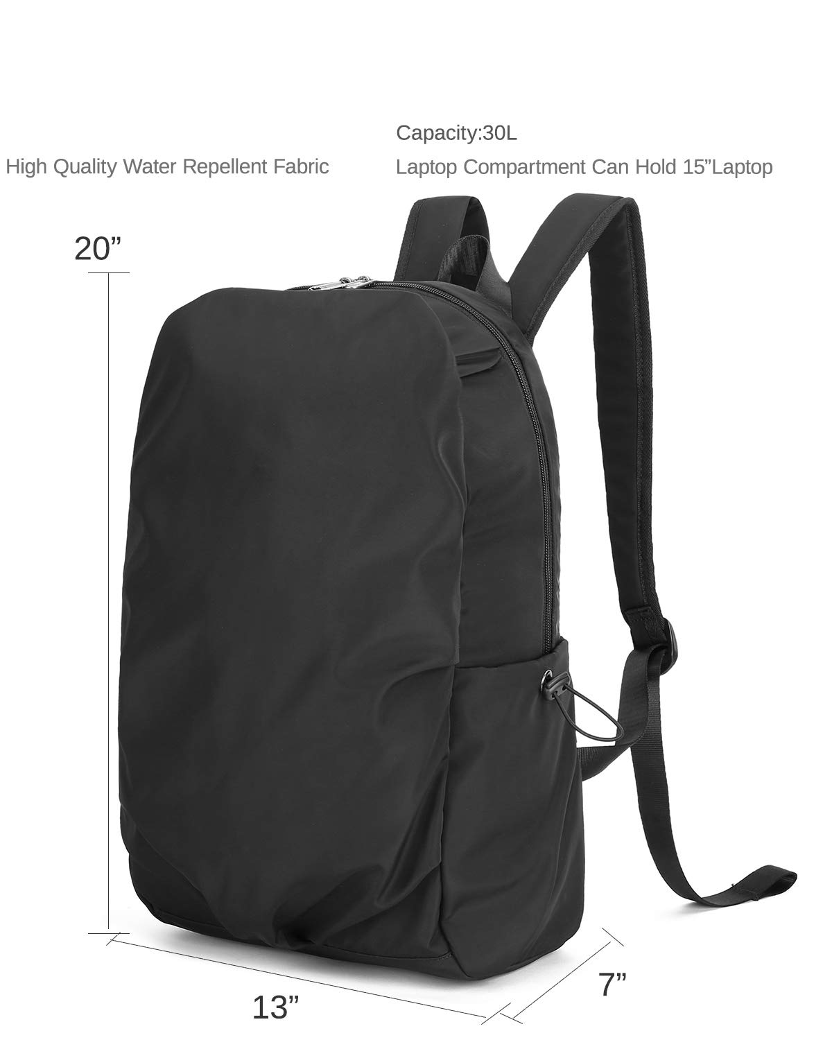 533bd2d392f6 CAMEL CROWN 30L Backpack for Men Women School College Student ...