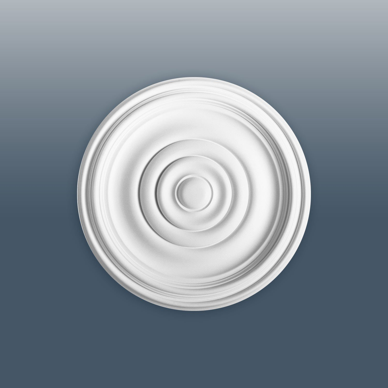 Ceiling Rose Rosette Orac Decor R08 LUXXUS Medallion Centre quality classic style decor white 38 cm = 15 inch diameter