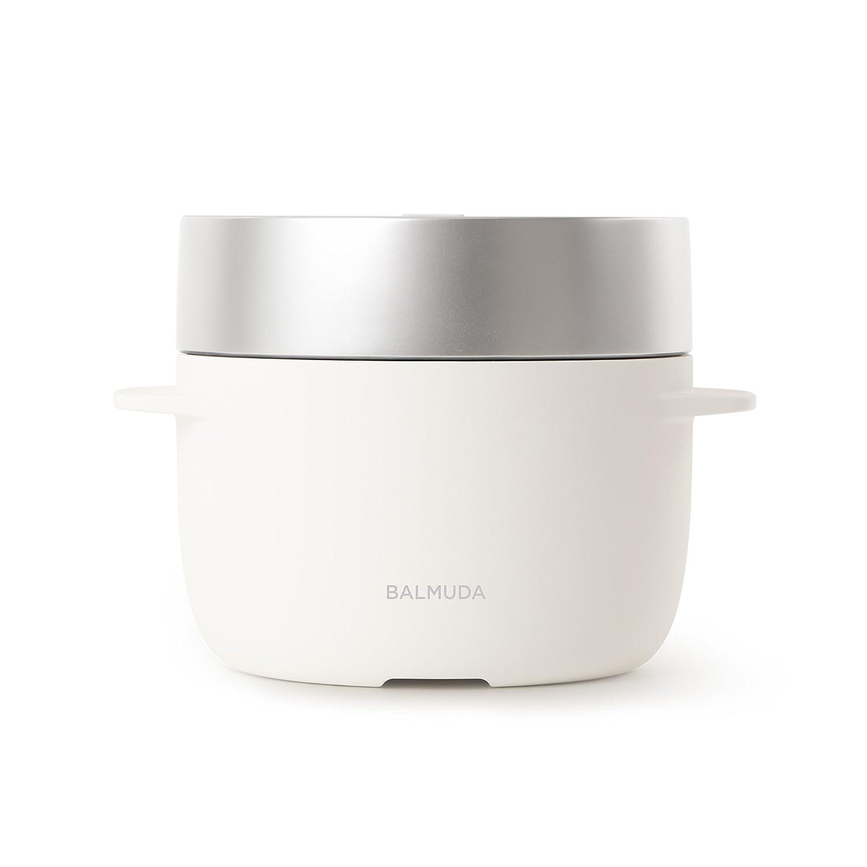 "BALMUDA 3Go (450 g) electric cooker ""The Gohan"" K03A-WH(White)"