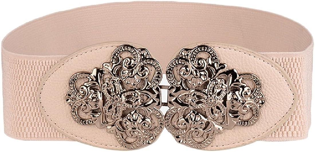 Toraway Belts, Women Vinatge Elastic Waistband Elastic Girdle Waist Belts Waistband