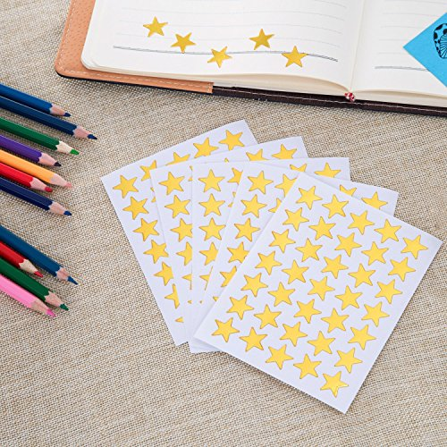 Kenkio 8270 Count Colorful Star Stickers Self-adhesive Stickers Stars Labels Photo #7