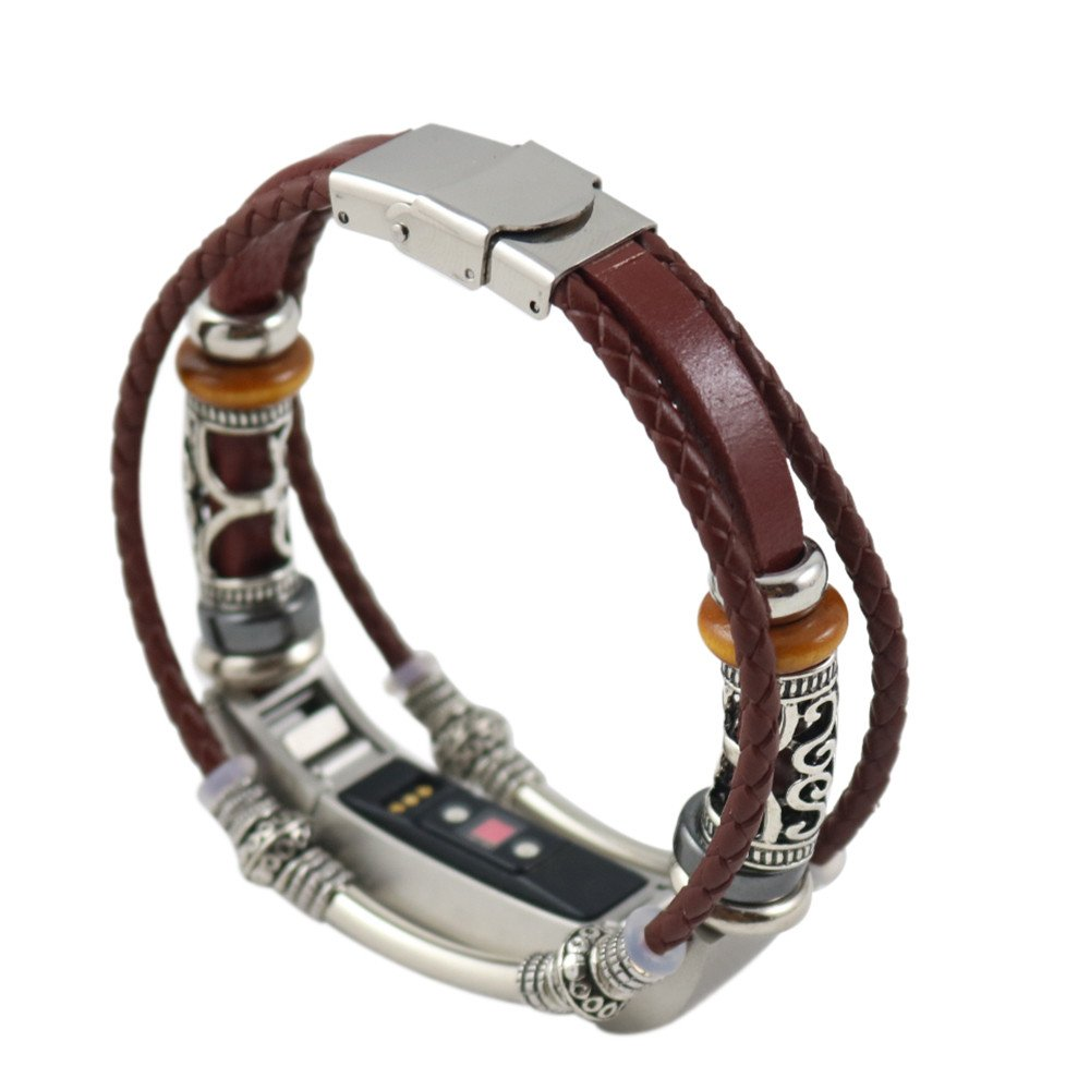 ❤SU/&YU❤Replacement Leather Wristband Band Strap Bracelet for Fitbit Alta//Fitbit Alta HR