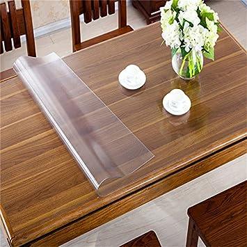 Tischfolie Tischdecke Schutzfolie  PVC Folie  80 cm Breite transparent 1,6 mm