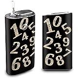 グローシール glo グロー ケース 電子タバコ グロー タバコ グロー シール gloステッカー glo シール スキンシール カバー ステッカー 電子たばこ タバコケース 煙草 ゴージャスナンバー (A) glo-ami0004-e0401-n