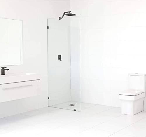 Glass Warehouse 78-inch x 33-inch Frameless Shower Single Fixed Panel