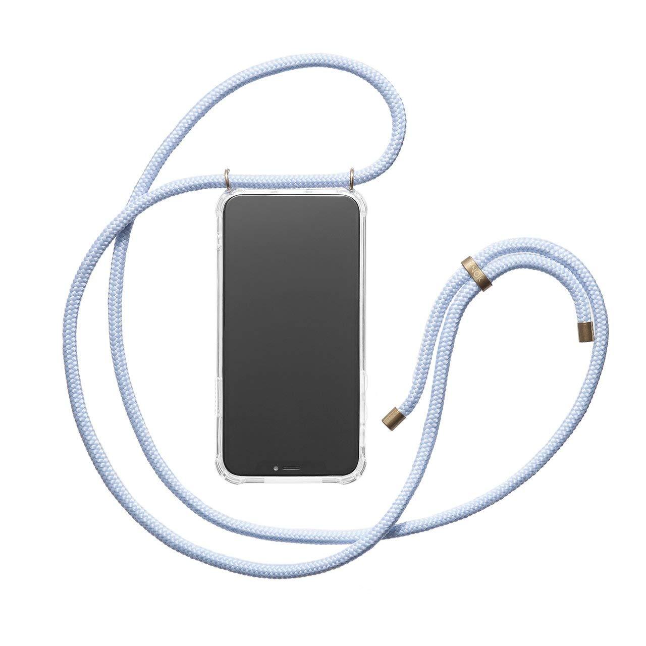Hecho a Mano en Berlin Case con Cordon para Llevar en el Cuello KNOK Funda Colgante movil con Cuerda para Colgar iPhone 7//8 Plus Carcasa de m/óvil iPhone Samsung Huawei con Correa Colgante