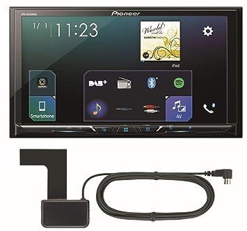 Pioneer SPH-DA230DAB Receptor Multimedia para Coche Negro Bluetooth - Radio para Coche (Negro