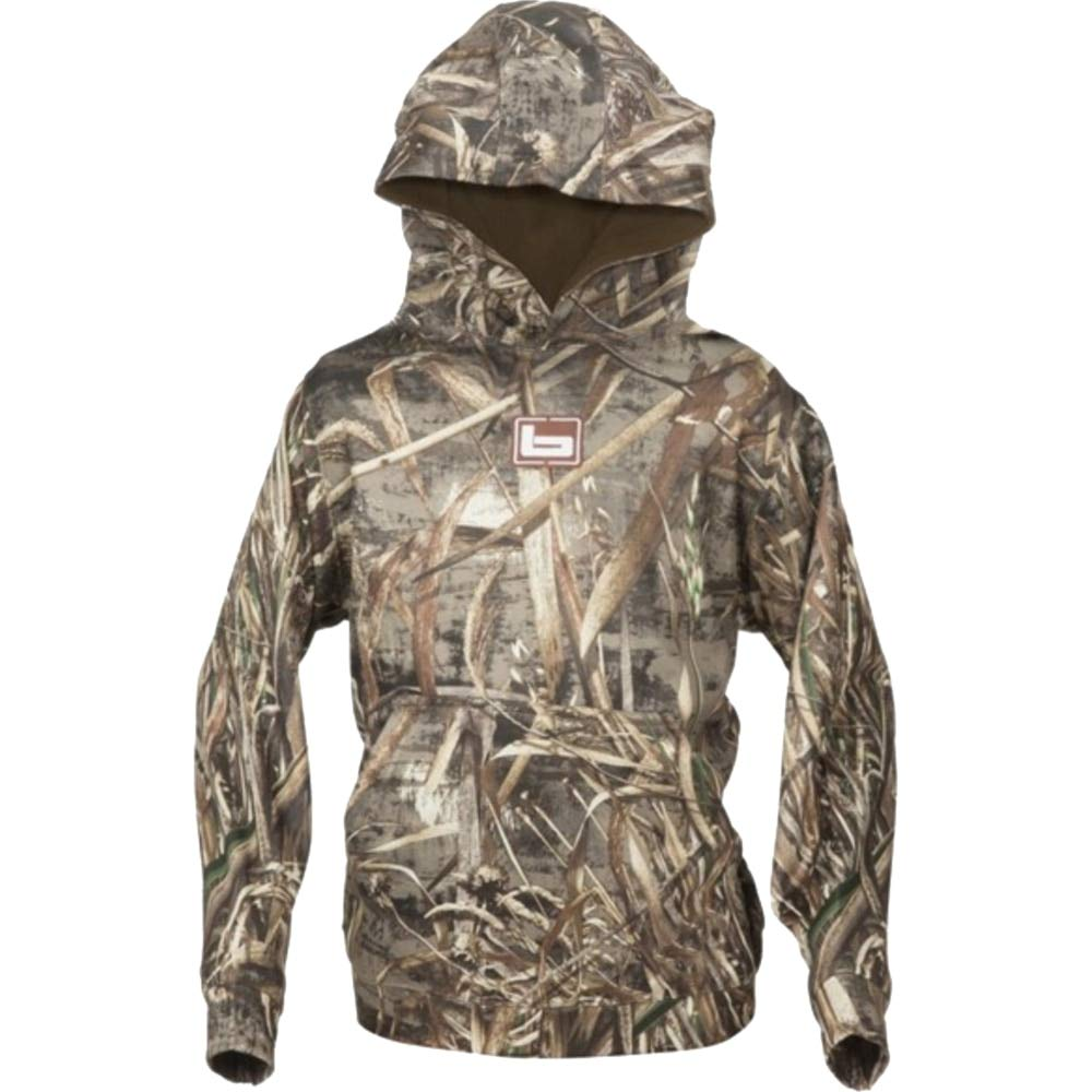 d5c15d915e062 Amazon.com : Banded Tec Fleece Youth Pullover, Color: Bottomland  (B3050001-BL) : Sports & Outdoors