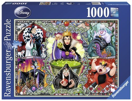 Ravensburger Disney Villians Wicked Women Gothic Puzzle (1000-Piece) by Ravensburger -