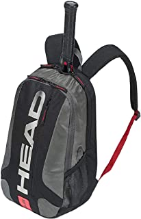 44ddc14fb HEAD Unisex's Tour Team Backpack Tennis Racket Bag, Black/Silver ...