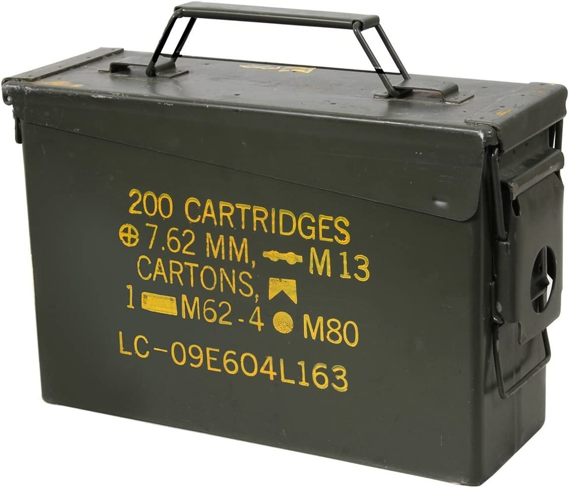 U.S. Military 30 Cal Ammo Can Grade 1 (3 Pack)
