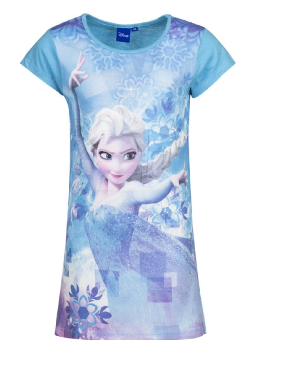 GladRags® Girls Nightie Age 3 4 5 6 7 8 Years Character Official Frozen Elsa Anna Nightwear Gift Night Dress