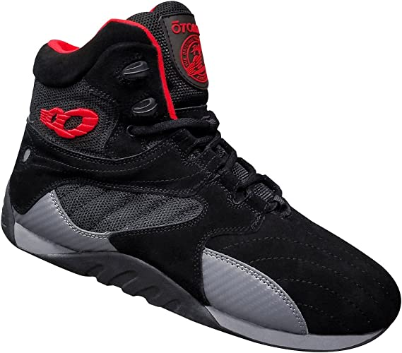 Otomix Ultimate Trainer-Black//Red Carbon Style Chaussures fitness boxing