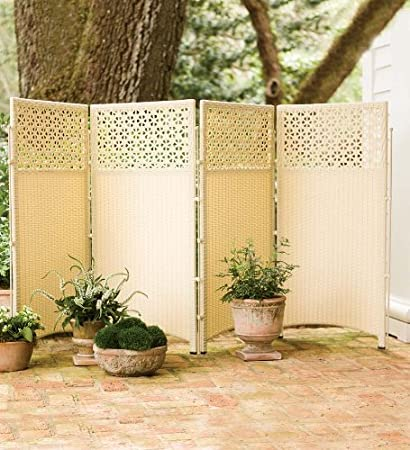 Superieur Wicker Outdoor Patio Privacy Screen