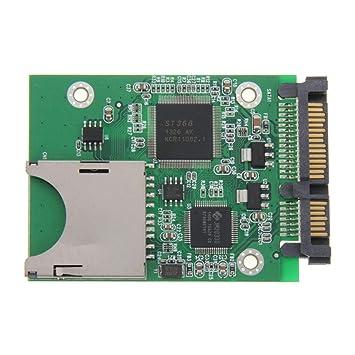 SD a la Tarjeta convertidora adaptadora SATA de 22 Pines ...