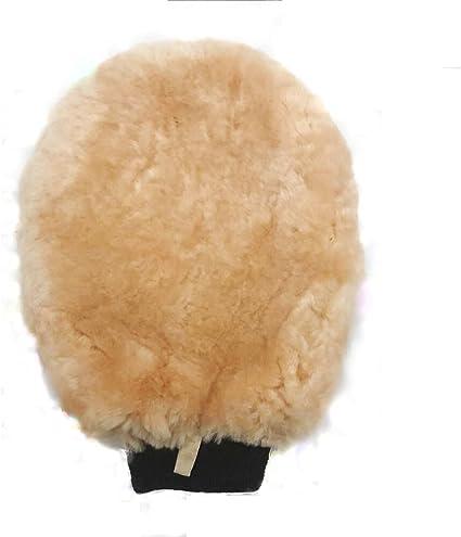 1 pack de manopla de lana de cordero para limpiar y pulir.: Amazon.es: Coche y moto