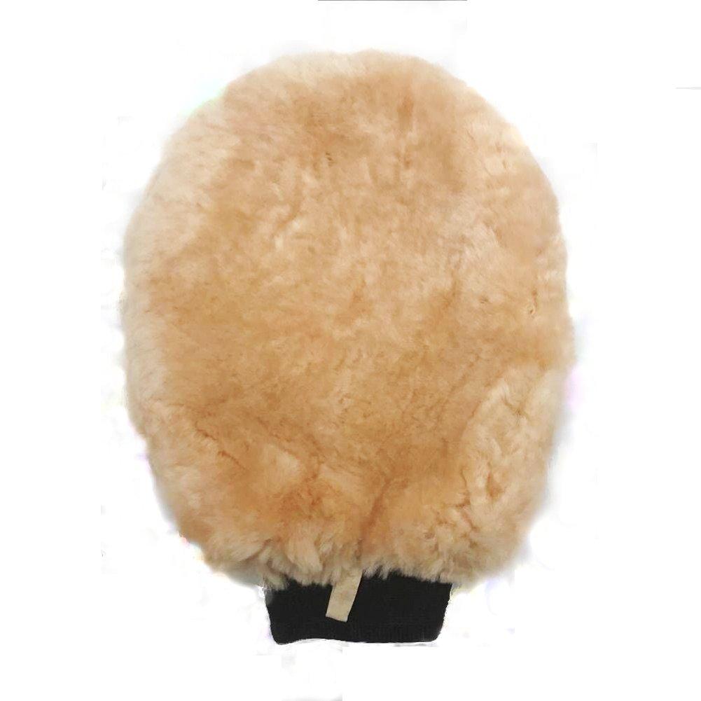 1 pack de manopla de lana de cordero para limpiar y pulir. SHAREWIN