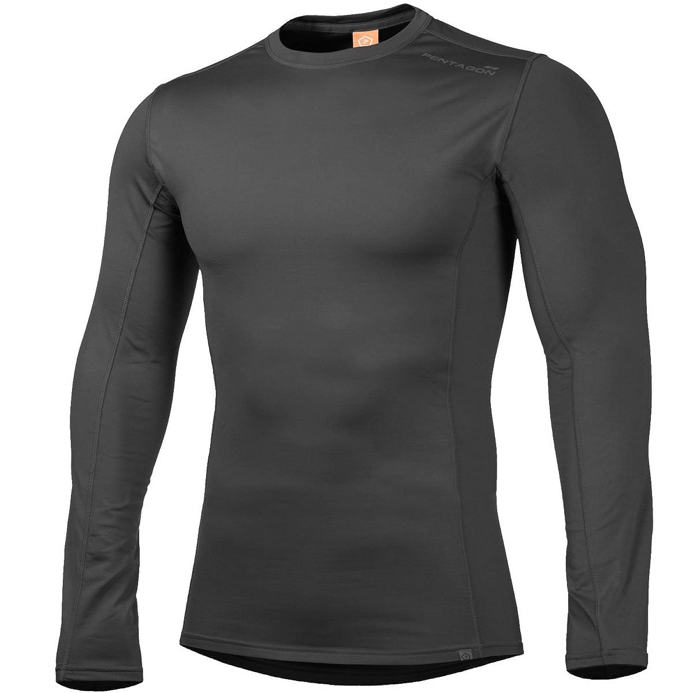 Pentagon Men's Pindos 2.0 Thermal Shirt Black