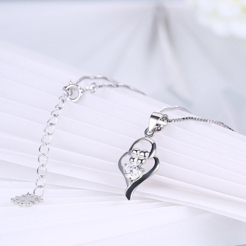 myazs8580 SH-N0024 Fashion Silver Necklace