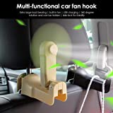 Yunn Universal Car Fan Hook Multifunctional Seat