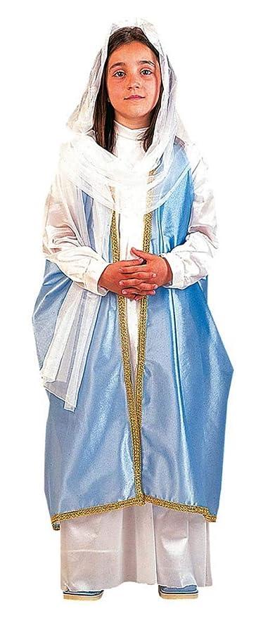 EL CARNAVAL Disfraz Virgen Maria Talla XS (2-4años): Amazon.es ...