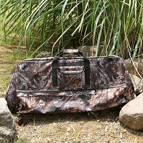MagiDeal Camouflage Recurve Compound Bow Bag Case Cover Holder Backpack Archery Accessories by MagiDeal (Image #8)