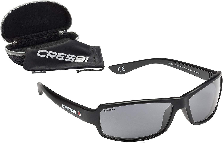 Cressi Ninja Floating Sunglasses BLACK DB1