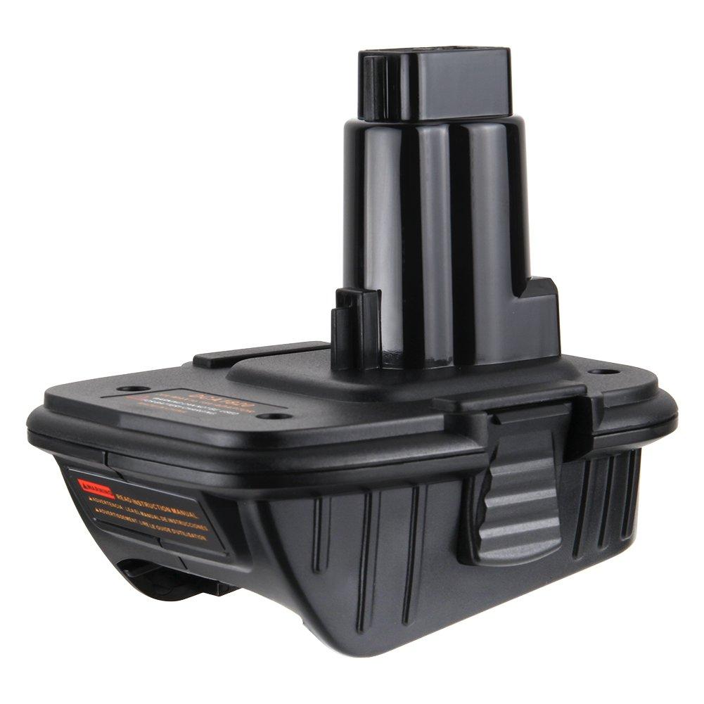 LYPULIGHT DCA1820 Dewalt Adapter 18v- 20 Volt Max Battery Adapter for 18 Volt Tools
