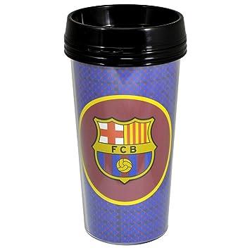 FCB FC Barcelona Vaso de viaje Travel Mug - Taza termo (0,4 l: Amazon.es: Deportes y aire libre
