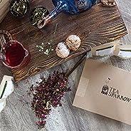 Tea Sparrow Tea Subscription - Curated Variety of 4 Premium Loose Leaf Teas - The Best Tea Subscription Box -