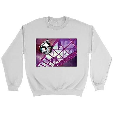Vaporwave Christmas Sweater.Vaporwave Crew Neck Sweater Featuring Bad Sunday Feeling