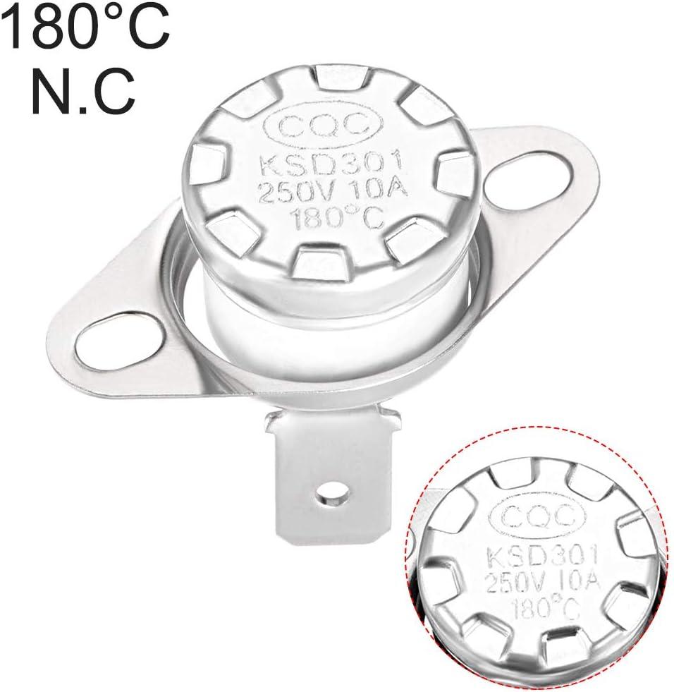 Sourcingmap a13092400ux0044-5 x nc temperatura cer/ámica termostato interruptor de 200 grados celsius ksd301